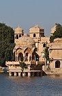 Rajasthan , Jaisalmer : lac de Gadi Sagar (Gadisar) 1ère partie
