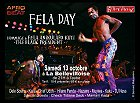 Fela Day, 13 octobre 2012