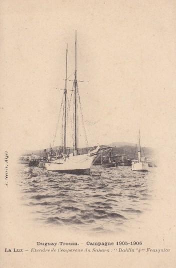 duguay.trouin.campagne.1905.1906.escadre.de.lempereur.du.sahara.dahlia.et.frasquita1