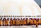 Bodnath (Boudhanath) - 20 Novembre 2016 - cérémonie de consécration...