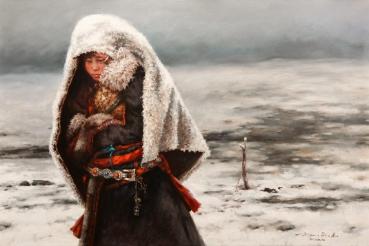 passingsnow.24x36.donna.zhang