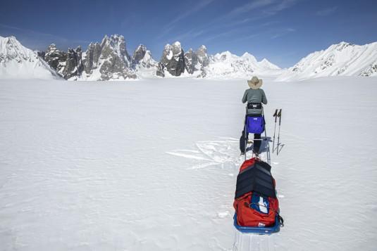 test.paneau.solaire.x.dragon.40w.pakistan.snow.lake.shimshal.ski.1