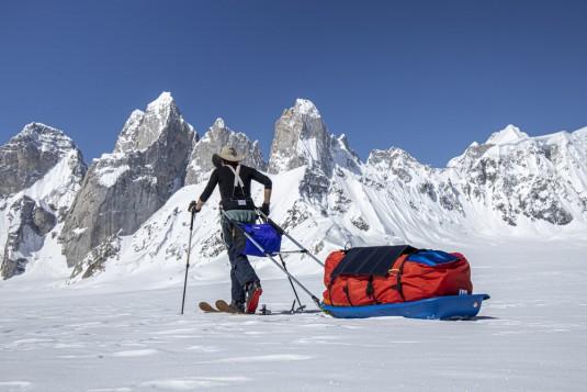 test.paneau.solaire.x.dragon.40w.pakistan.snow.lake.shimshal.ski.2